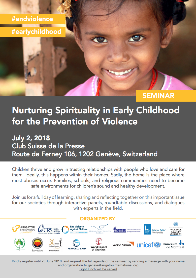 Seminar Nurturing Spirituality in Early Childhood thumb